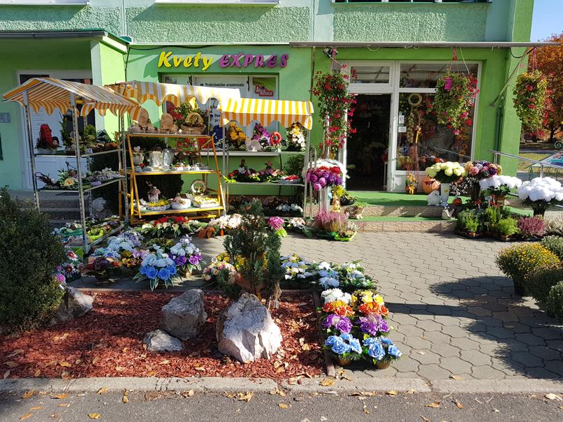 Kvetyexpres - predajňa