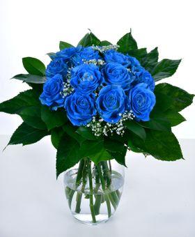 Kytica krása modrej ruže