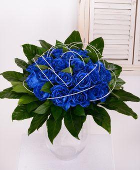 Kytica modrých ruží