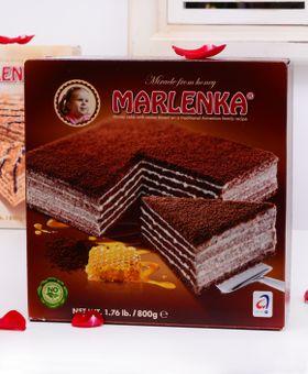 MARLENKA medová torta s kakaom