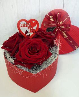 Srdiečko z ruží MINI