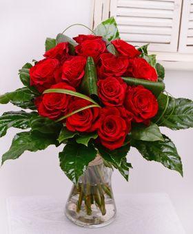 Kytica červených ruži