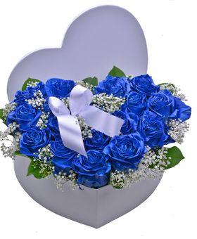 Srdce modrých ruží