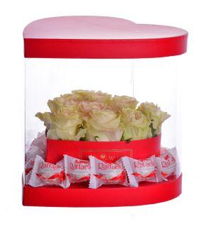 Valentínsky box červený